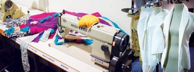 Роль швейной промышленности  в современной индустрии моды.