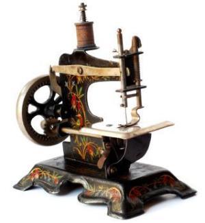 старинные швейные машинки