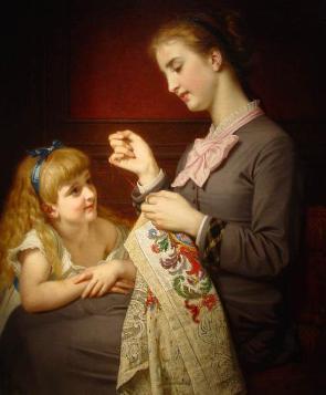 Старинное искусство вышивания и современные вышивальные машины