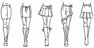 сшить юбку