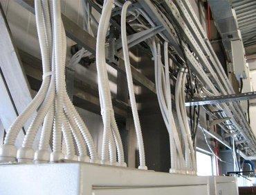 Электромонтаж в производственных помещениях
