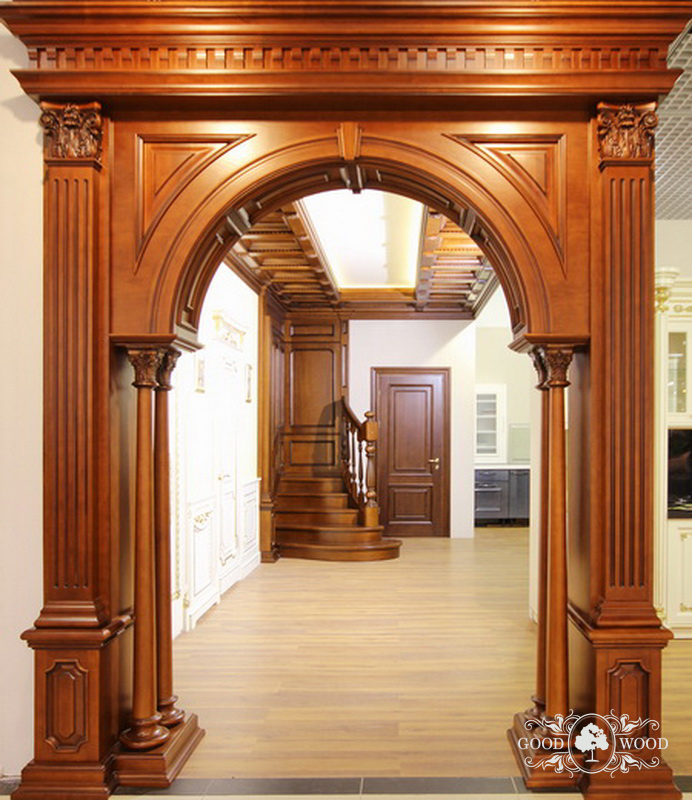 Деревянные арки фото