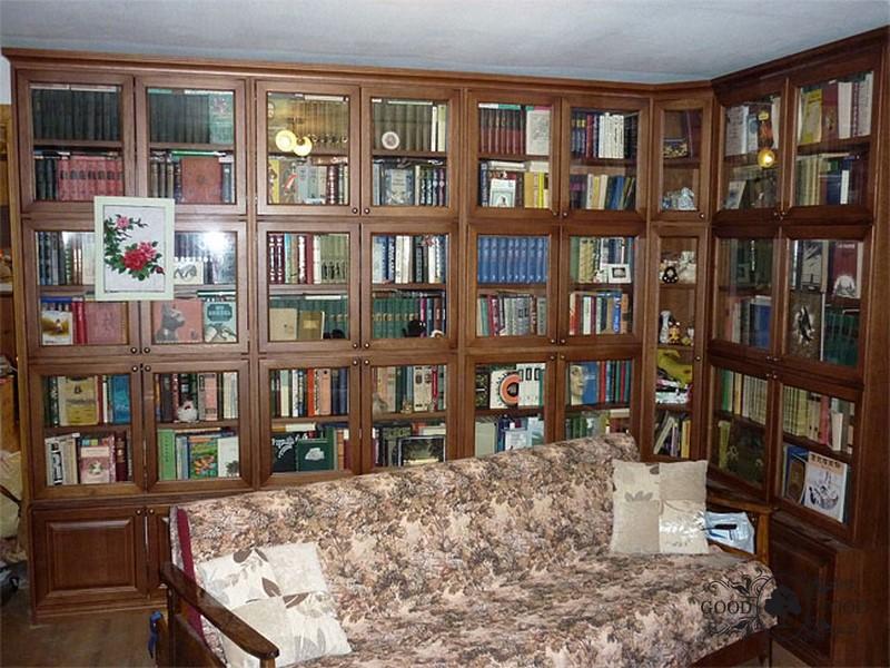 Книжный шкаф-библиотека своими руками 86