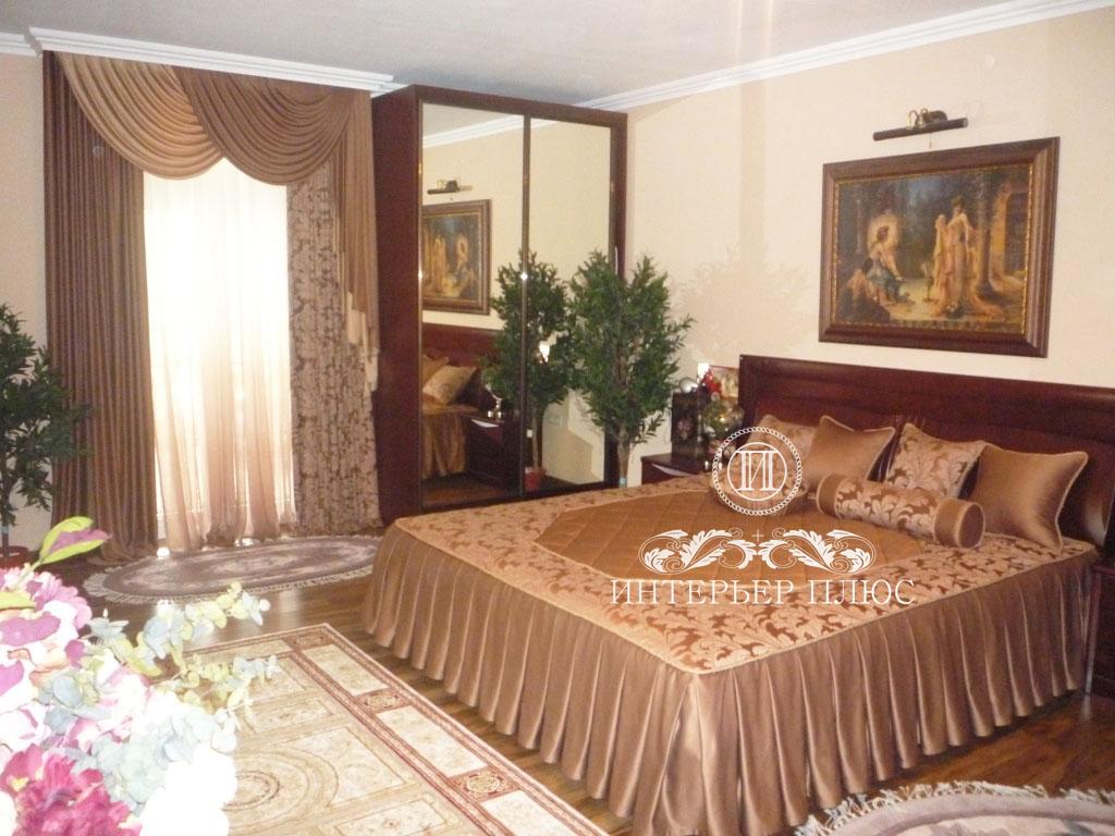 шторы и покрывало для спальни сделай сама каталог